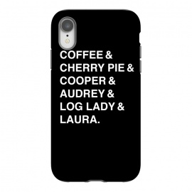 iPhone Xr  Twin Peaks Coffee & Cherry  by