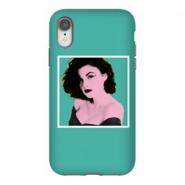 iPhone Xr  Twin Peaks Audrey Horne Pop Art by Alisterny (twin-peaks, twinpeaks, tv-series, markfrost, mark-frost, firewalkwithme, davidlynch, david-lynch, lynch, laurapalmer, murder, crime, detective, laura-palmer, twinpeaks2017, showtime, audrey-horne, audreyhorne, popart, pop-art, marilyn monroe, marilyn-monroe, marilyn, warhol, andywarhol, andy-warhol,)