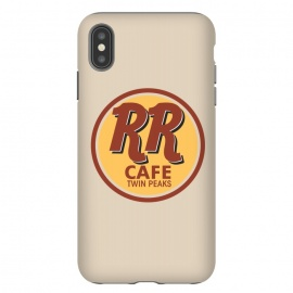 iPhone Xs Max  Twin Peaks RR Cafe by Alisterny