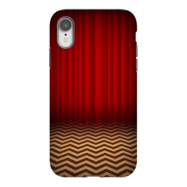 iPhone Xr  Twin Peaks Red Room by Alisterny (twin-peaks, twinpeaks, tv-series, markfrost, mark-frost, firewalkwithme, davidlynch, david-lynch, lynch, laurapalmer, murder, crime, detective, laura-palmer, twinpeaks2017, showtime, red-room, redroom, blacklodge, black-lodge,mashup, mashups, funny, popculture, funnytshirt, funnyshirt, tshirt, parod)