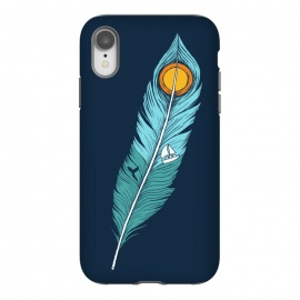 iPhone Xr  Feather Landscape by Coffee Man