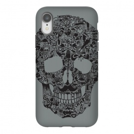 iPhone Xr  Made of Many Things by Wotto (Skull, many things,vector,detail,detailed,calavera,skulls,illustration,cool, death, dead, symbols, symbolic,death art, dark arts, wotto)