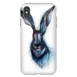 iPhone Xs Max  Blue Hare by ECMazur