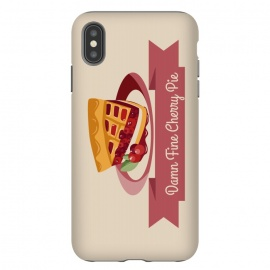 iPhone Xs Max  Twin Peaks Cherry Pie by Alisterny
