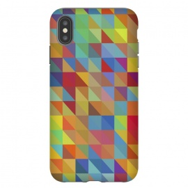 iPhone Xs Max  Meduzzle: Color Chaoses by Sitchko Igor (Geometry,triangle,triangles,geo,cube,cubes,vector,texture,pattern,color,colorful,retro,modern,pop-art,minimal,minimalism)