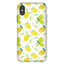 lemons by Sarah Price Designs (lemons,yellow,fruit,fresh)