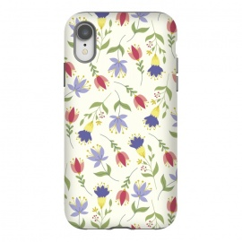 iPhone Xr  Floral Toss by TracyLucy Designs