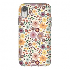 iPhone Xr  Wild Bloom by TracyLucy Designs (floral,blooms,pattern,nature)