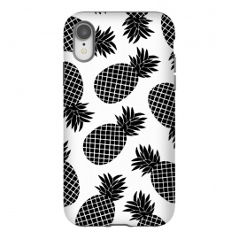 iPhone Xr  Pineapple In Black  by Amaya Brydon