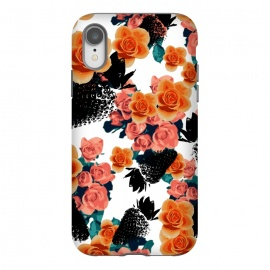 iPhone Xr  Strawberries + Flowers by Zala Farah