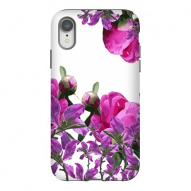 iPhone Xr  Hiding Pink Flowers by Zala Farah