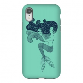 iPhone Xr  Mermaid Night green by Coffee Man