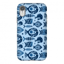 iPhone Xr  Deep Sea Blue by Heather Dutton