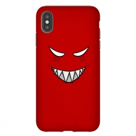 iPhone Xs Max  Evil Grinning Face by Boriana Giormova