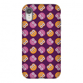 iPhone Xr  Cute Cartoon Bugs Pattern by Boriana Giormova