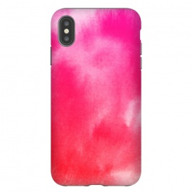 iPhone Xs Max  Watercolor Pink by Caitlin Workman