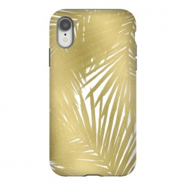 iPhone Xr  Gold Palms by Caitlin Workman