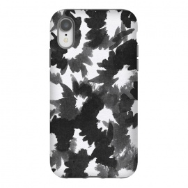 iPhone Xr  Black Floral by