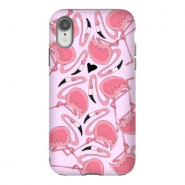 iPhone Xr  Flamingo Love by Alice De Marco