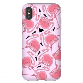 iPhone Xs Max  Flamingo Love by