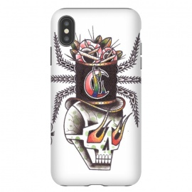 iPhone Xs Max  Skull6 by Evaldas Gulbinas