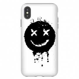 iPhone Xs Max  Confused Smile by Sitchko Igor (Music,smile, emoji,confused,happy,black,white,blackandwhite,minimalism,minimal,techno,acid,splash,one,color)