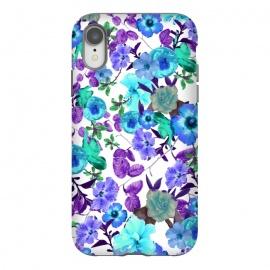 iPhone Xr  Zariya Garden (Blue) by