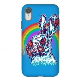 iPhone Xr  Zombie Rabbit by Branko Ricov