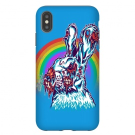 iPhone Xs Max  Zombie Rabbit by Branko Ricov