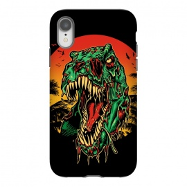 iPhone Xr  Zombie T-Rex by Branko Ricov