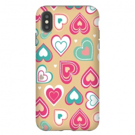 iPhone Xs Max  Love Hearts by Martina