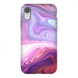 iPhone Xr  Purple Marble by Martina (abstract, texture, marble, geometric,pattern, pink, purple,nature,cool,pretty,modern, stylish, feminine, girlie, for her,illustration, graphic,design,original, unique)