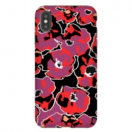 iPhone Xs Max  Poppy by Susanna Nousiainen