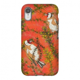 iPhone Xr  Goldfinch in Gorse by Lotti Brown