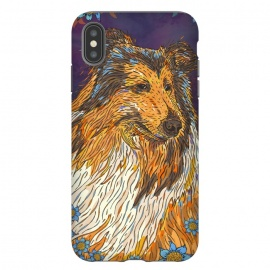 iPhone Xs Max  Rough Collie by Lotti Brown