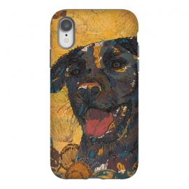 iPhone Xr  Black Labrador by