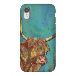 iPhone Xr  Highland Cow by