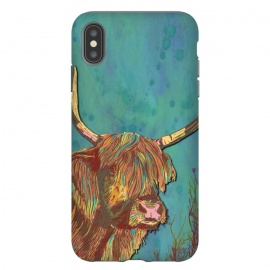 iPhone Xs Max  Highland Cow by Lotti Brown