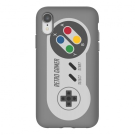 iPhone Xr  Retro Gamer Serie I by Dellán (gamer,video game,retro,vintage,80´s,90´s,classic,hipster,geek,nerd,computer,tech,8 bit)