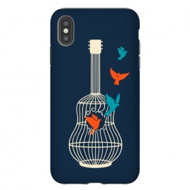 iPhone Xs Max  Freedom music by Coffee Man (music,guitar,birds,bird,pet,pets,pet lover,freedom,free,musician)