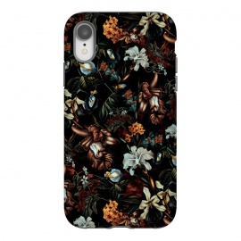 iPhone Xr  Botanical Flowers I by Riza Peker (FLORAL,PATTERN,ART)