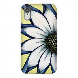 iPhone Xr  White African Daisy by Denise Cassidy Wood