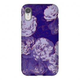 iPhone Xr  Navy Fluer by Zala Farah