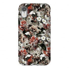 iPhone Xr  Floral Fall by Riza Peker (botanical, floral,fashion,design,rizapeker,art)