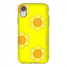 iPhone Xr  Flowerama by Bettie * Blue