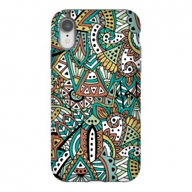 iPhone Xr  African Botanicals by Pom Graphic Design