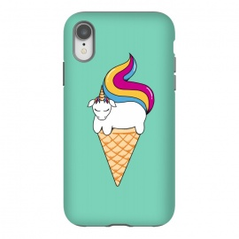 iPhone Xr  Uni-cone green by Coffee Man