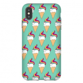 iPhone Xs Max  Uni-cone  by Coffee Man (unicorne,ice cream,kids,kid, children, funny,fun,humor,pets, horse,ponny,cute,adorable)