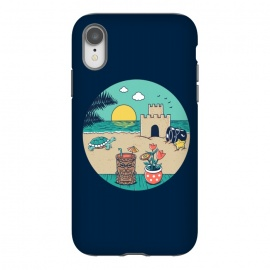 iPhone Xr  Video game beach by