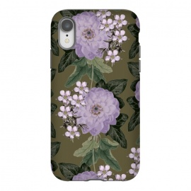 iPhone Xr  My Dear by Zala Farah (floral,purple,purple flowers,flower,flowers,flora,floral print,floral collage,floral pattern,floral art,art,print,pattern,lush,garden,flower print,flower pattern,flower art,purple flower print,flower collage,flower art print,vintage,dark flowers,zala02creations)